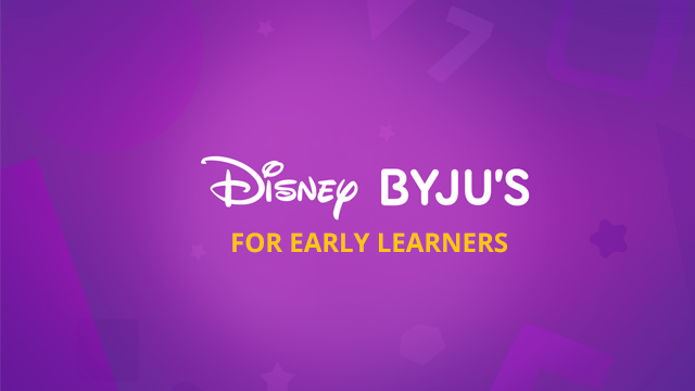 BYJU'S DISNEY APP FOR EARLY LEARNERS